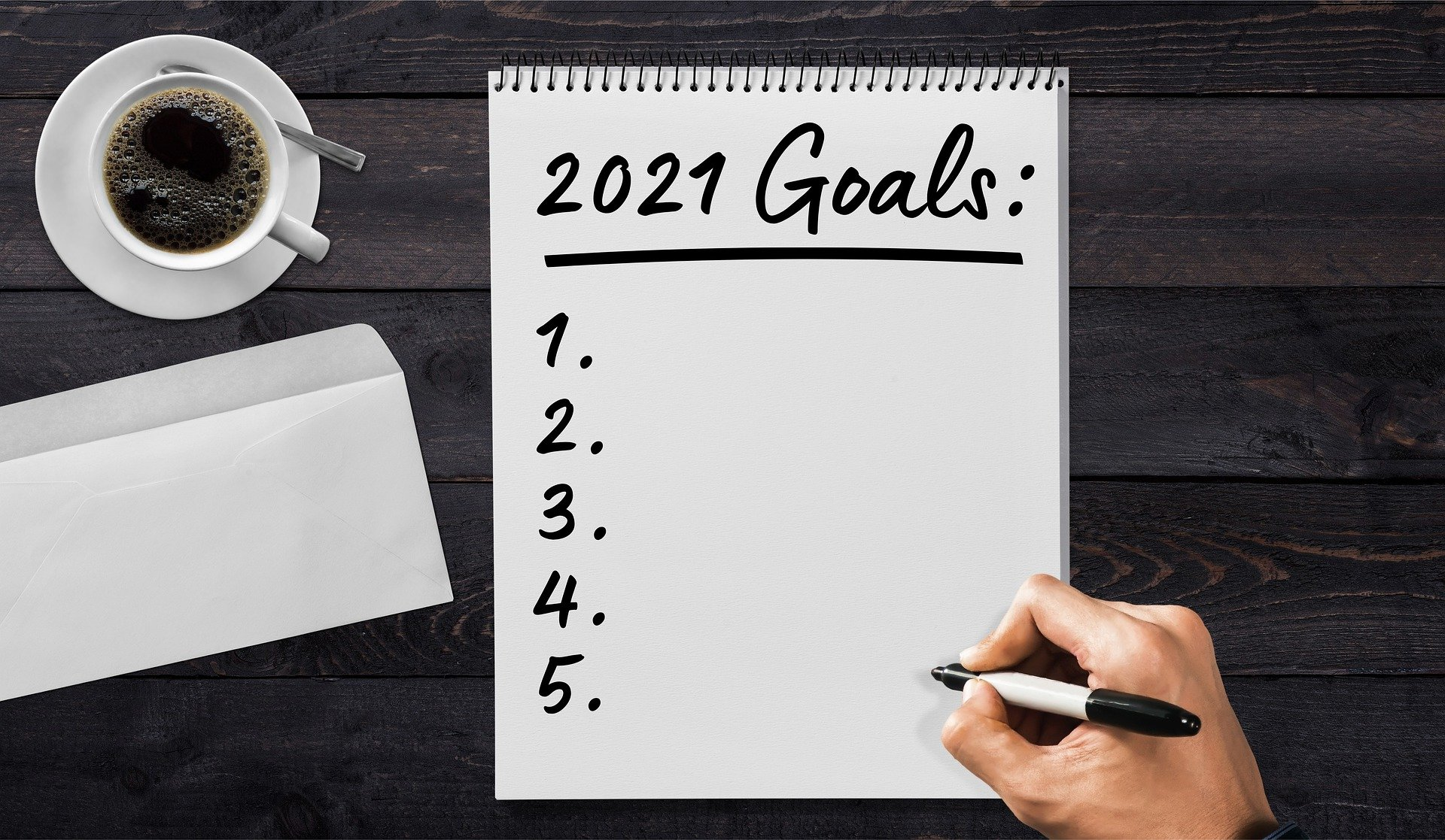 Writing Resolutions – How to Set Realistic Goals for 2021